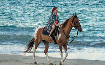 Horseback Riding on the Beautiful Eastern Shores of Sri Lanka