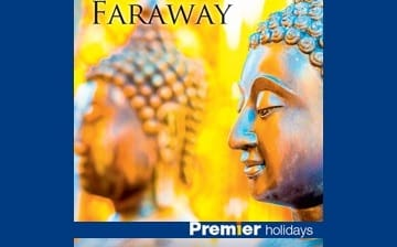 Chena Huts featured in Premier Holidays' 'Faraway' brochure