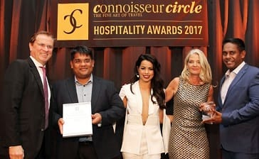 ULAGALLA WINS 'BEST BOUTIQUE HOTEL' AT CONNOISSEUR HOSPITALITY AWARDS 2017