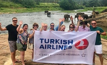 Travel Counselors and Turkish Airlines Fam Trip to Sri Lanka – Irish Travel Trade News